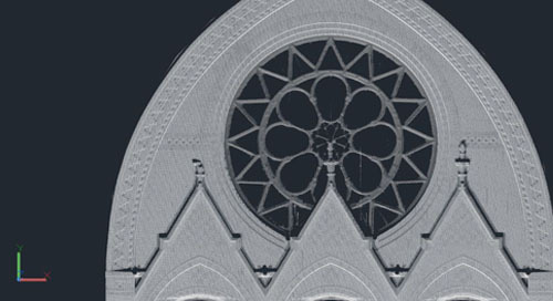 Cincinnati's iconic Music Hall receives a laser-scan close-up
