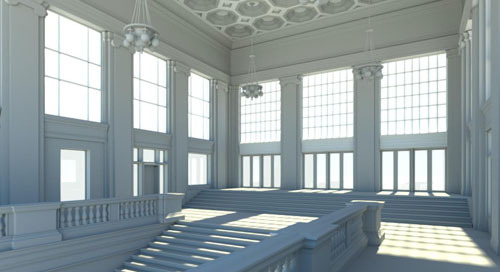 Catching all the iconic details with HD laser scanning