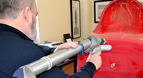 FARO aids jet hydroplane project with speed & accuracy