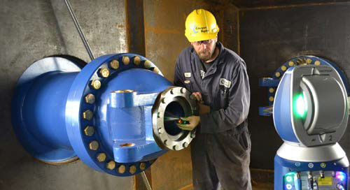 Vantage S Laser Tracker is key in Canyon Hydro's long-term growth