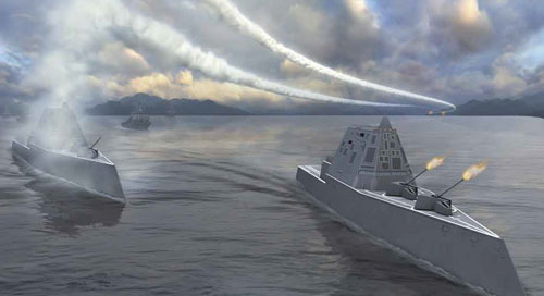 FARO Laser Tracker improves measurements on naval destroyer