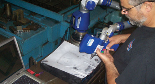 Debco Tool & Die cuts inspection time in half with FARO ScanArm