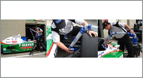 Andretti Racing gains freedom & function with ScanArm