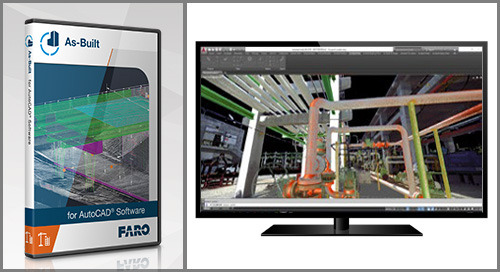 [TECHSHEET] FARO As-Built for AutoCAD Software