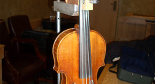 Reverse engineering violins
