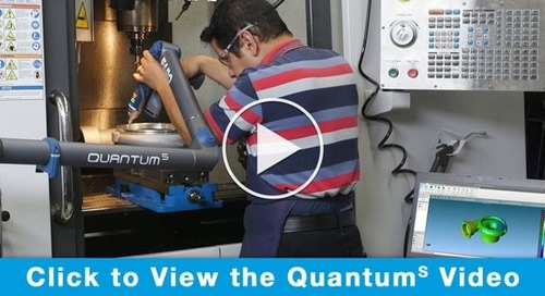 World's best measurement arm just got better - introducing Quantum S FaroArm
