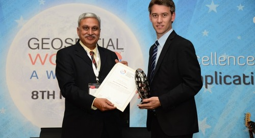 FARO clinches Technology Innovation Award at Geospatial World Forum 2014