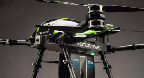 Airborne 3D scanning from FARO & STORMBEE