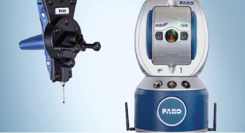 Conheça o mais poderoso portfólio de Laser Tracker 6DoF