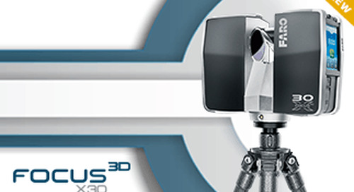 Introducing: New FARO Focus 3D X 30 Laser Scanner