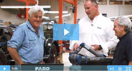 Exclusive Episode: Watch Jay Leno receive his new Quantum S FaroArm