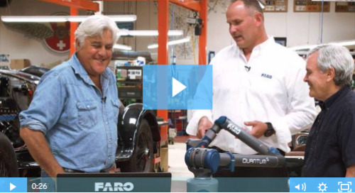 Exclusive Episode: Watch Jay Leno receive his new Quantum S FaroArm