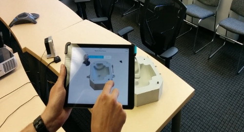 Part inspection using Occipital Structure Sensor and BuildIT Metrology