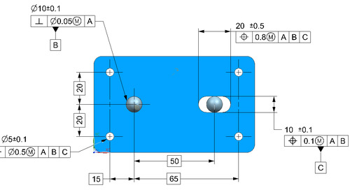 GD&T in precision engineering: using slots in precision location