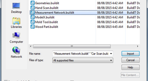 Handy tips for importing models in BuildIT