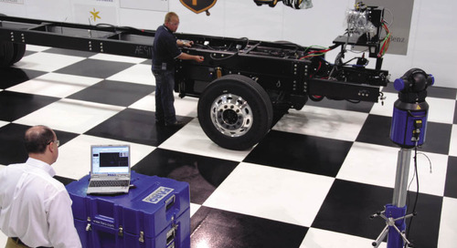 Freightliner Custom Chassis reduces rework with the FARO Laser Tracker