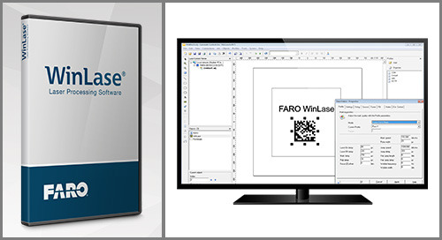 [TECHSHEET] FARO WinLase Laser Processing Software