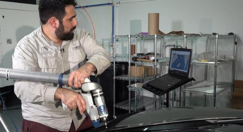 El escaneo 3D acelera la ingeniería inversa