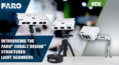 [NEW] Cobalt Design Structured Light Scanners for Design Professionals