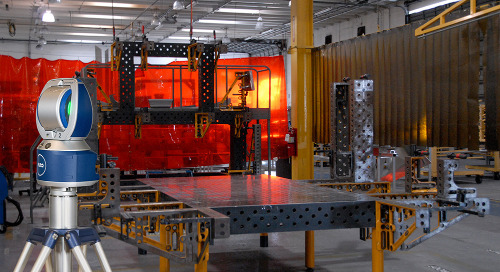 Building large tooling with tight tolerances