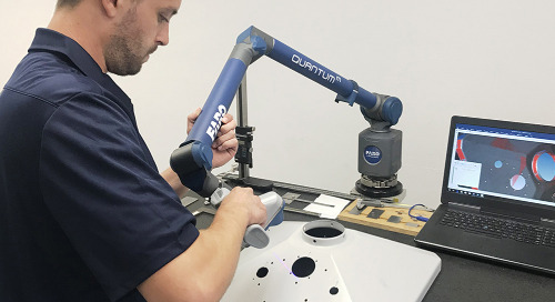 ScanArm & CAM2 impulsionam a qualidade de fabricação premiada