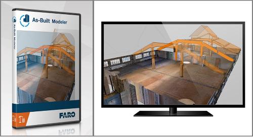 [TECHSHEET] FARO As-Built Modeler Software