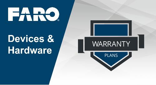 FARO hardware service plan overview