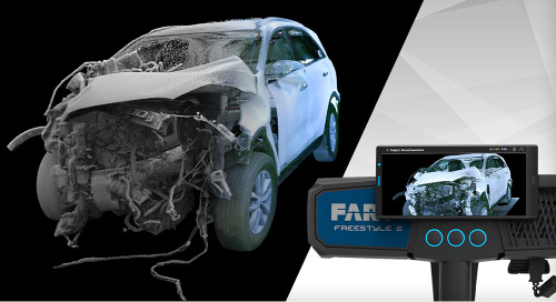 [INTRODUCING] Fast– easy – photorealistic 3D data capture for public safety: FARO Freestyle 2
