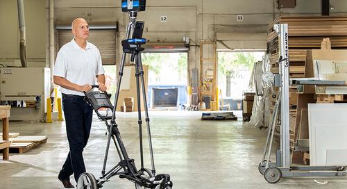 [NUEVO] El escáner 3D móvil para interiores FARO Swift busca convertirse en el estándar de la industria en velocidad y precisión de mapeo