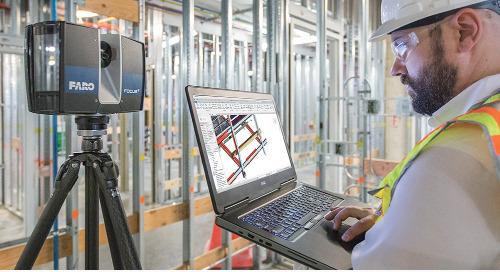 Con FARO As-Built Software, el modelado CAD y BIM es más fácil que nunca [folleto]