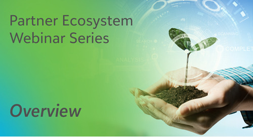 Overview - Blackbaud Partner Ecosystem Webinar Series - On-demand