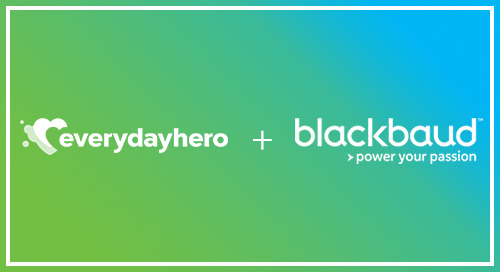 Everydayhero & Blackbaud: Better Together