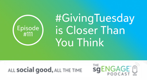 #GivingTuesday is Closer Than You Think [Podcast #111]