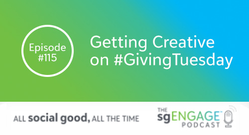 Getting Creative on #GivingTuesday [Podcast #115]