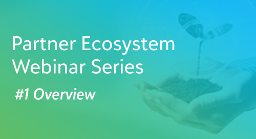 Overview - Blackbaud Partner Ecosystem Webinar Series #1 - On-demand