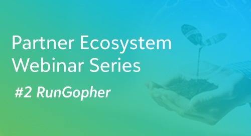 RunGopher - Blackbaud Partner Ecosystem Webinar Series #2- On-demand