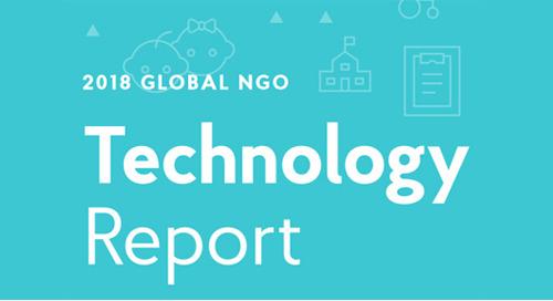 2018 Global NGO Technology Report: Key Findings