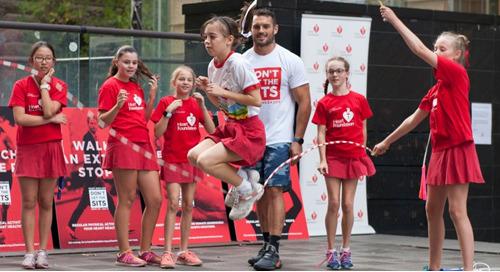 Jumping Rope & Kicking Fundraising Goals