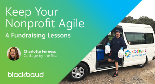 How to Keep Your Nonprofit Agile: 4 Fundraising Lessons from Cottage by the Sea