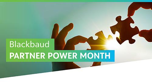 Partner Power Month: Unlock Your Fundraising Potential - Webinars On-Demand
