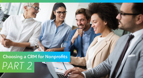 Choosing a CRM for Nonprofits, Part 2: Building Your Team