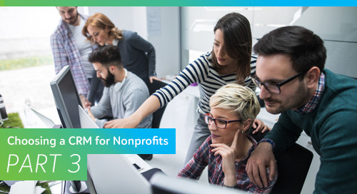 Choosing a CRM for Nonprofits, Part 3: Selecting a Vendor