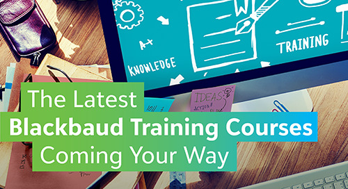 4 Upcoming Raiser's Edge Training Courses You Can't Miss