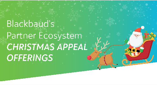 Blackbaud's Partner Ecosystem Christmas Appeal Offerings