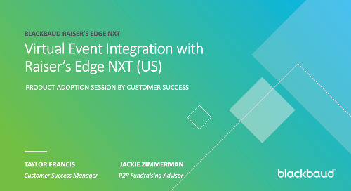 ▶️ Integrate JustGiving with Raiser's Edge NXT®