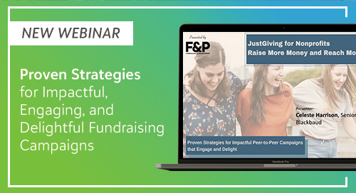 [New Webinar] Proven Strategies for Delightful Fundraising Campaigns