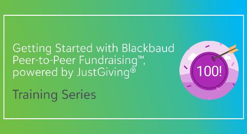 Free Fundraising Training Series