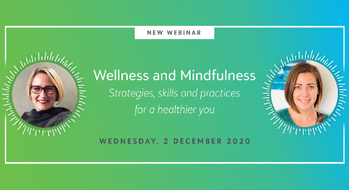 Wellness and Mindfulness Webinar