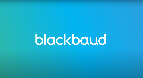 ▶ VIDEO: Welcome to Blackbaud
