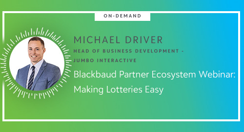 ▶ On-Demand Webinar: Jumbo Interactive - Making Lotteries Easy